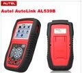 Autel AutoLink AL539B OBDII leitor de código de auto teste AL 539B 539 Scanner de bateria elétrica