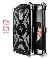 Zimon Original Simon Case Armor Shockproof Metal Aluminum THOR IRONMAN Protective Phone Cases Covers For Xiaomi