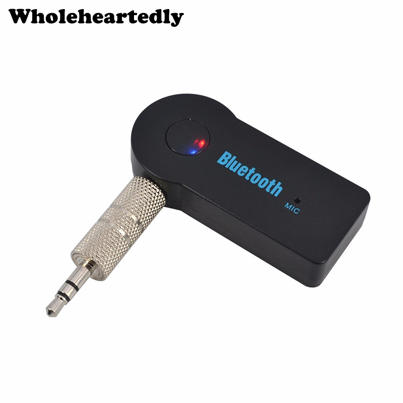 Mini 3.5mm Jack AUX Audio MP3 Stereo Music Bluetooth Receiver Adapter For iPhone Headphone Car Kit Wireless Handsfree Speaker