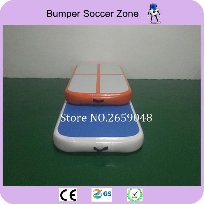 Livraison gratuite 3*1*0.1 m tapis gonflable gonflable de gymnastique de voie d'air de Trampoline de voie de dégringolade
