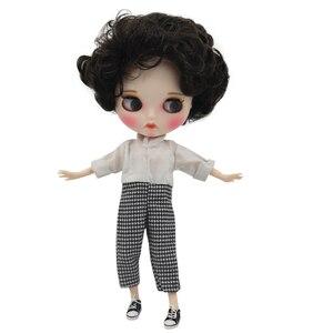 Image 4 - DBS bjd buzlu blyth doll çıplak fabrika normal ve ortak vücut el set AB moda kız bebek özel fiyat