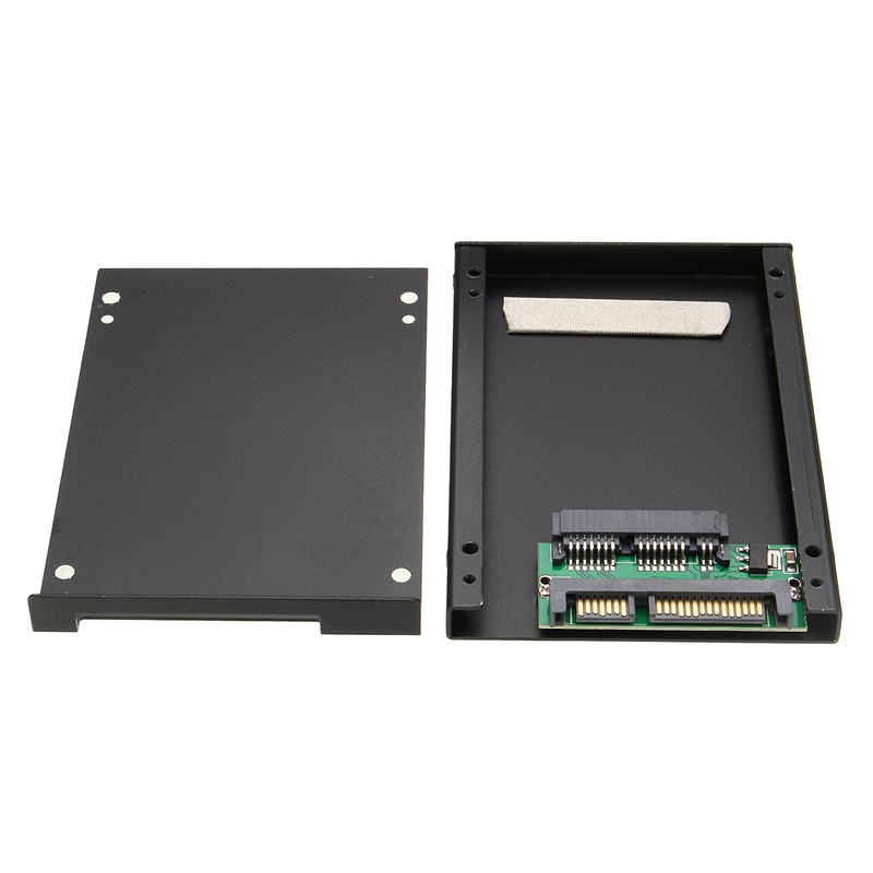 1 8 inch Micro SATA mSATA SSD to 2 5 inch SATA Card Converter Adapter Card