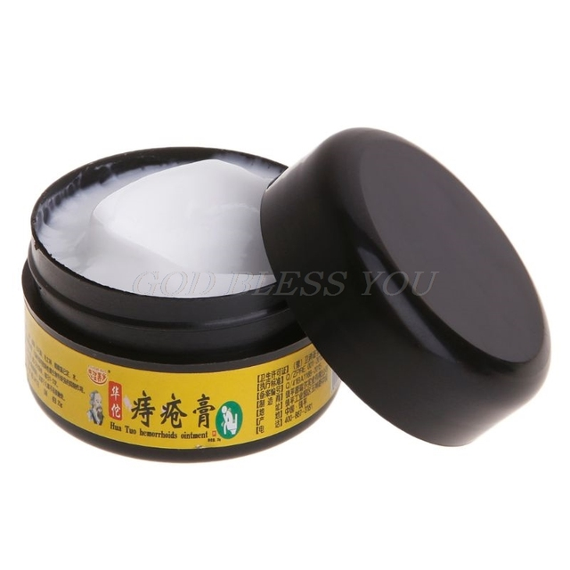 25g Chinese Herbal Extracts Hemorrhoids Cream Ointment Internal External Piles Drop Shipping 2