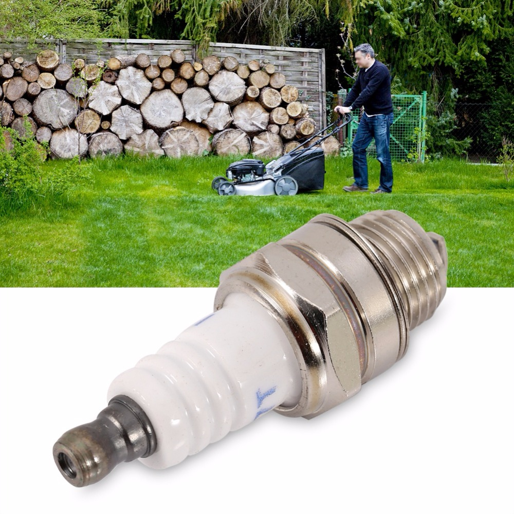 Lawn Mower Spark Plug electrode Spark Plug Garden Lawnmower Chainsaw Replacement Parts For Chainsaw Lawn Mower Strimmer