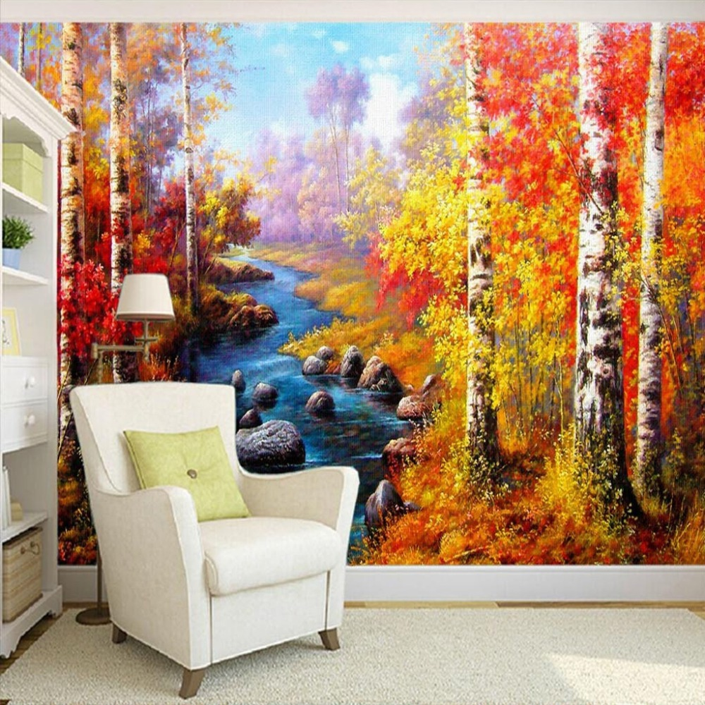 Compare prices on art birch online shopping buy low price for Custom mural cost