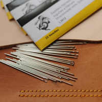 Hand Needle Britain John James Leatherwear Needle Round Needle Diy Leatherwear hand Tool Leather Crafts