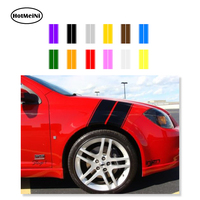 HotMeiNi Fender Hash Stripe Racing Graphic Decal Sticker Car Truck Or SUV 22 5 X 11