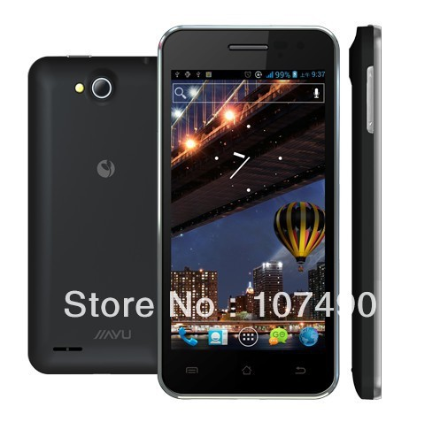 Hot JIAYUG2S phone in stock newest arrive MTK6577dual sim dual core standby android 4.0 1GB RAM freeshipping HKPOST free gift