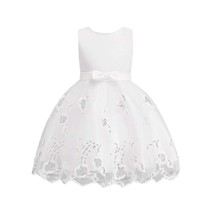 2018 Summer New girl dress  Flower Baby Girl Princess Bridesmaid Pageant Gown Birthday Party Wedding Dress Children Clothing P5 2017 new flower embroidery girl dresses pageant party wedding bridesmaid ball gown prom princess long dress girl clothes