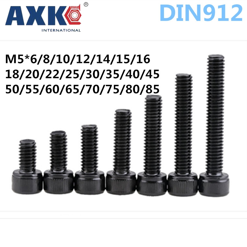 "7//16/""-14 COARSE Socket Head Cap Screws Allen Hex Drive Black Oxide Var Lengths"