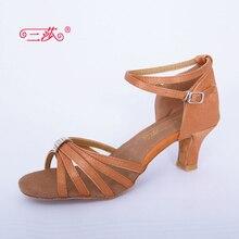 Sasha direct selling professional High Quality Rhinestone Salsa Tango Ballroom Latin Dance Shoes women 320