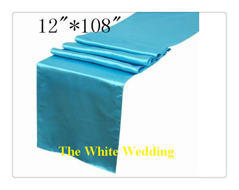 36 Piece Wedding Tablecloth Table Runners For Free