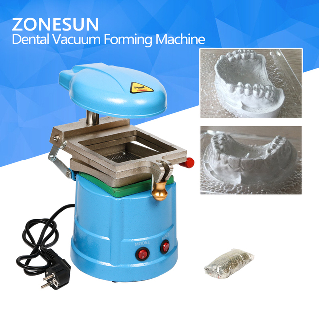 ZONESUN Dental Vacuum Forming Molding Machine