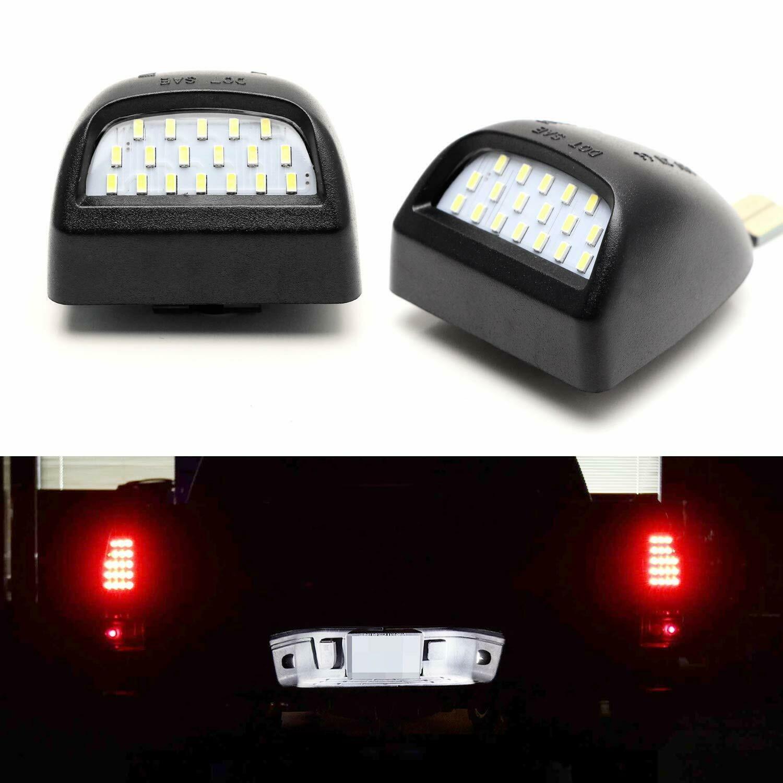 Kit de éclairage de plaque d'immatriculation LED complet oe-fit pour Silverado GMC Sierra 1500 2500 3500