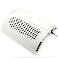 Jewhieny Strong Power Nail Dust Collector with 3 Powerful Fan Manicure Salon Tool Vacuum Cleaner Suction Dirt Dust Collector