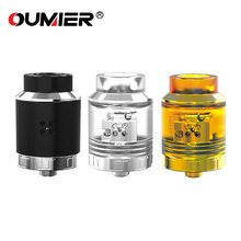 Original OUMIER VLS RDA Tank 1.5ml Capacity Support Single /Dual Coils Replaceable BF Pin For Squonk MOD E-cig Atomizer
