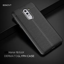 For Huawei Honor 6x Case Soft Silicone Leather Shockproof Cover GR5 2017 Funda BSNOVT