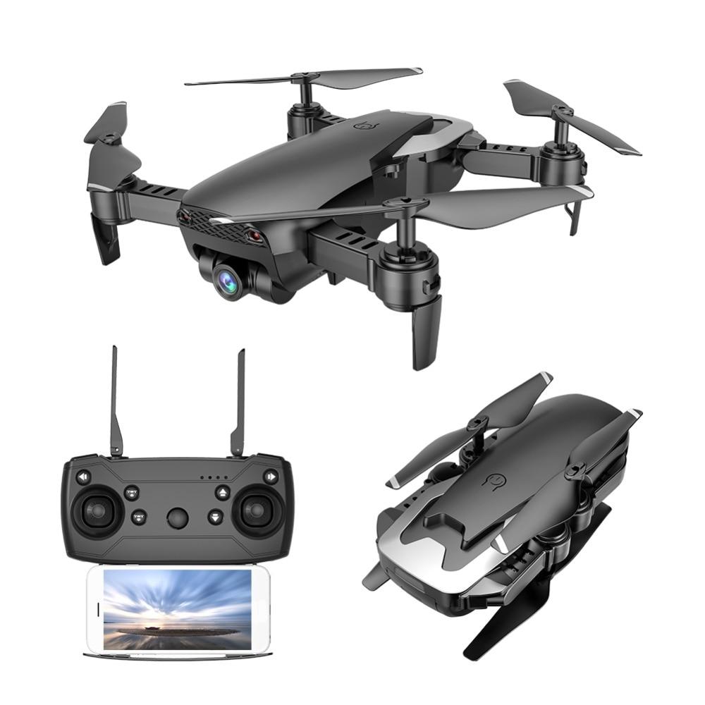 Drone RC M69 FPV avec caméra WiFi grand angle 720P pliable hélicoptère quadrirotor RC VS VISUO XS809HW E58 E61 X12 Dron