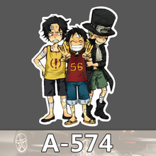 A 574 One Piece Waterproof Cool DIY Stickers For Laptop Luggage Fridge Skateboard Car Graffiti Cartoon