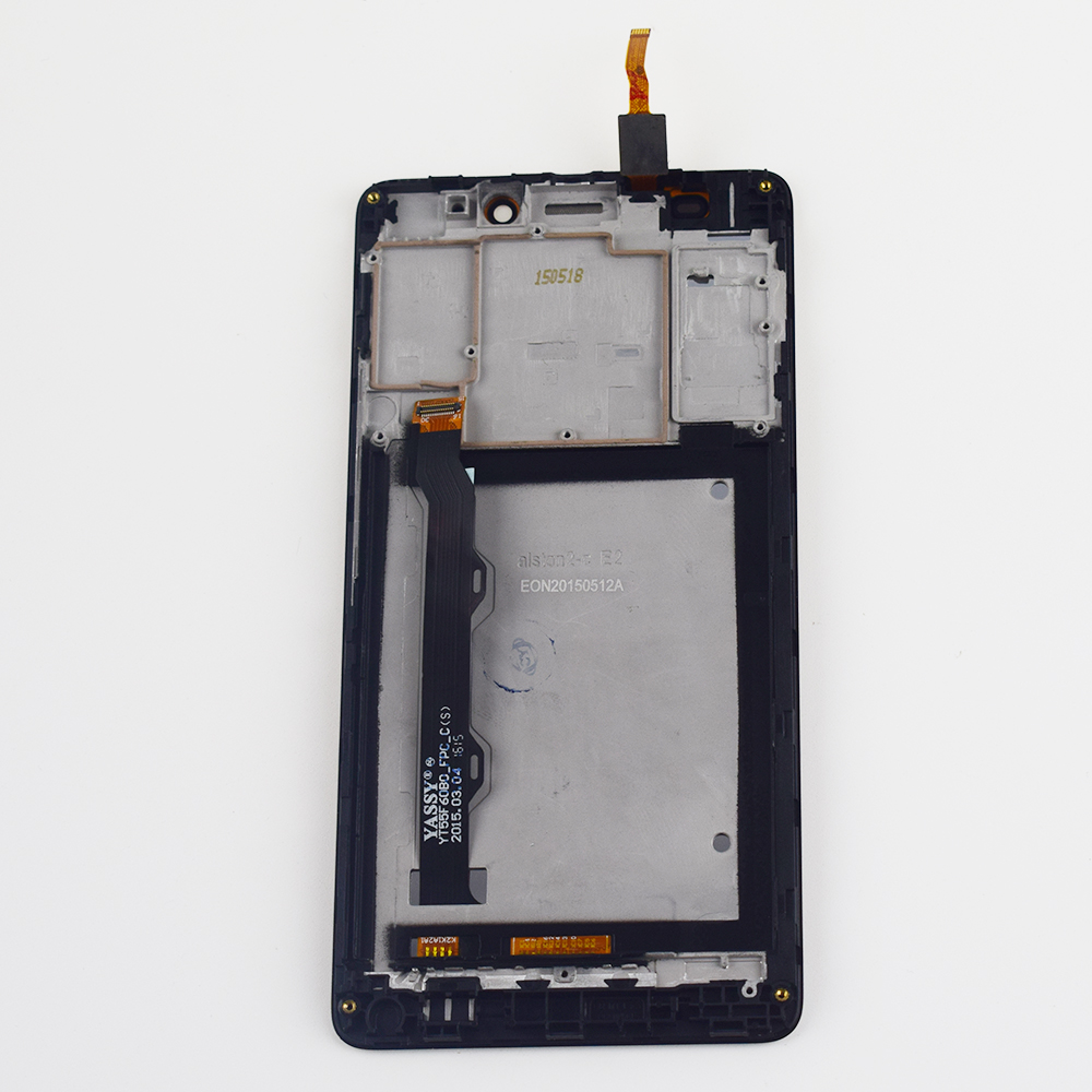 Mobile Phone Lcds Touch Screen Digitizer Sensor Panel Glass Assembly Frame Packing Of Nominated Brand Hot Sale For Lenovo S8 A7600 A7600m A7600-m Lcd Display Monitor Panel Screen