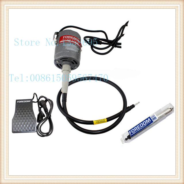 Foredom CC30 Power Tool Shaft Grinder, watch polishing machine, hanging flexible shaft machine, grinder tool kit, jewellers tool
