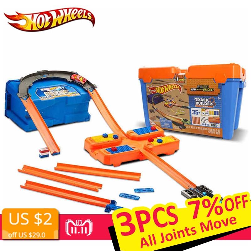 Hot Wheels Cars 3 Track Set Multifunctional Car Carros Brinquedos Diecast Hotwheels Kids Toys For Children Birthday Gift oyunca