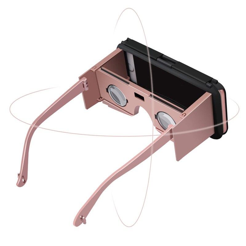VR Caso Auricular de Cristal Sostenedor de La Cubierta Protectora Del Teléfono M