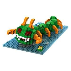 Image 2 - Piksel PacMan mikro blokları modeli DIY araya aksiyon CartoonFigure Donkey Kong Qbert yapı seti oyuncak çocuk hediye karikatür 9617 9620
