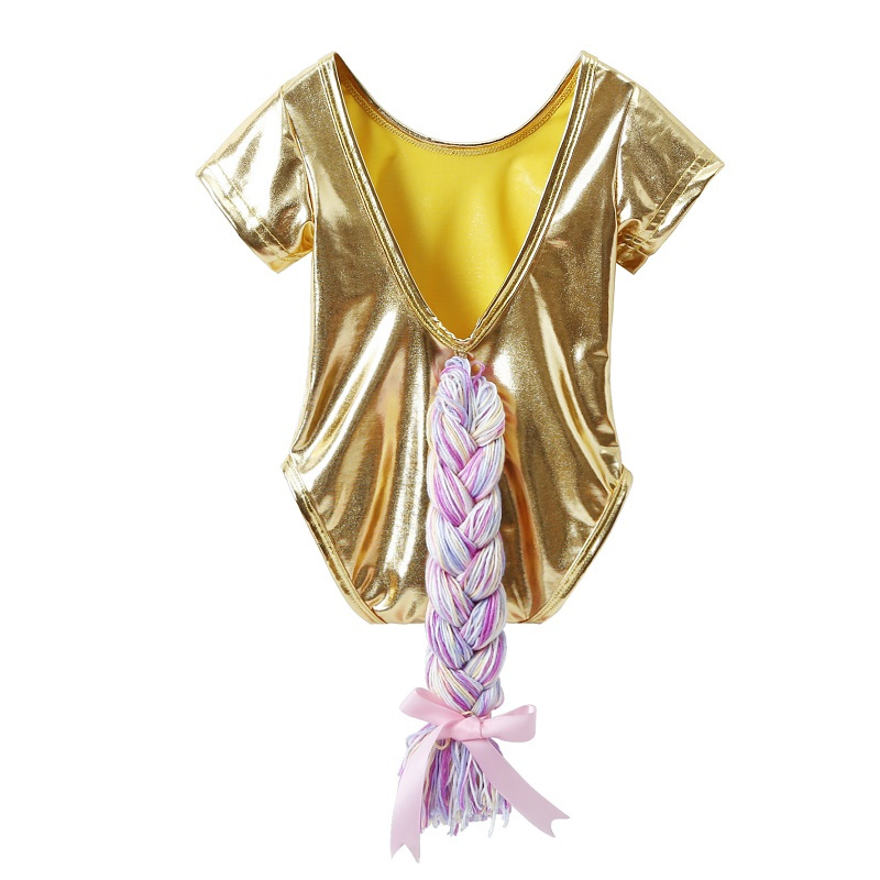 0-3T Rompers for Newborn Baby Summer Clothes Leather Rainbow Braid Onesie Childrens Backless Toddler Infant Baby Girl Clothes