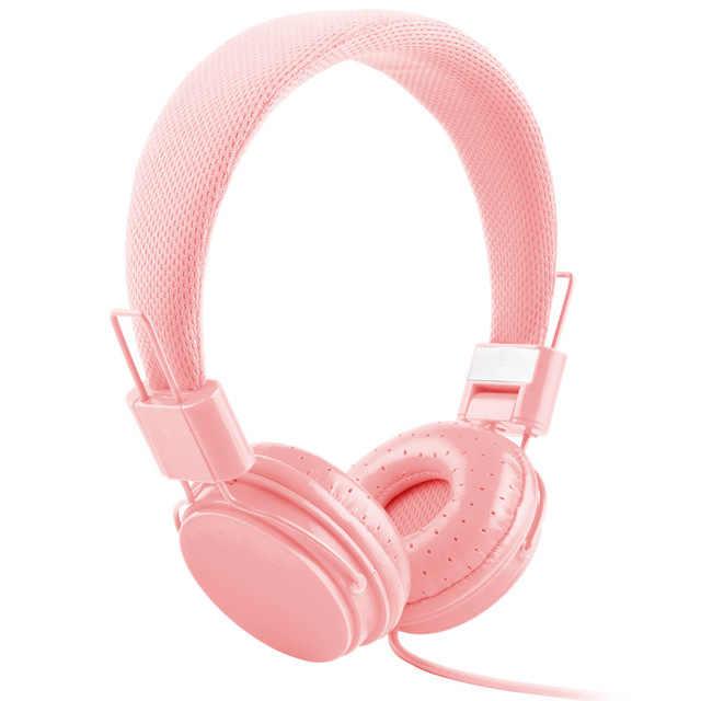 عالية الجودة ستيريو باس الاطفال سماعات E5 مع ميكروفون الموسيقى سماعات الأطفال سماعات صغيرة سماعة كهدية
