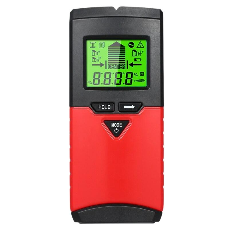 Wall Stud Finder & Level Gauge 2 In 1 Stud Detector Digital Metal Detector Studs/Wood/Metal/Ac Wires Detecting