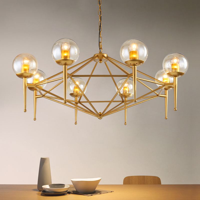 Modern Pendant Lamp Fixtures Gold Vintage Loft Hanglamp Dining Room E27 220v For Home Decor Suspension Luminaire купить
