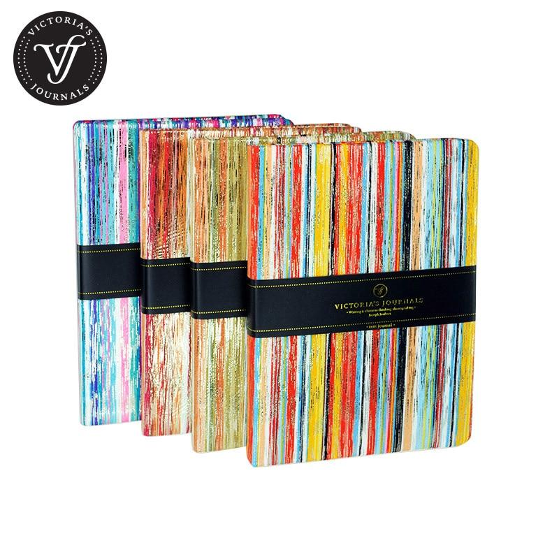 Revistas de Victoria Diario de cuaderno de tapa dura KARISMA - Blocs de notas y cuadernos