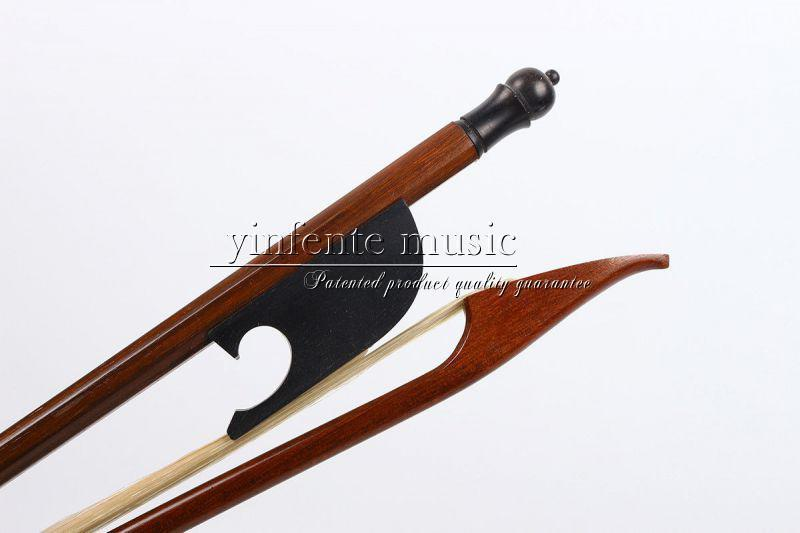 4//4 Violin Bow Baroque Model Straight New AAA Horse hair Ebony frog