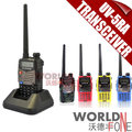 BaoFeng UV-5RA Doble Banda Transceptor 136-174 Mhz/400-520 Mhz Radio de Dos Vías Walkie Talkie Interphone auricular libre 2 unids/lote