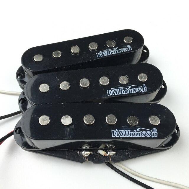 Уилкинсон звукосниматель для электрогитары Lic Винтаж голос однокатушечные ЗВУКОСНИМАТЕЛИ ДЛЯ ST гитары черный 1