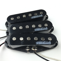 Wilkinson Electric Guitar Pickups Lic Vintage Voice Single Coil Pickups for ST Black