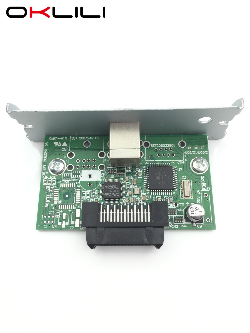 NEW C32C824131 M148E USB Port Interface Card for Epson TM-H5000II H6000IV J7000 J7100 J7500 J7600 L90 T70 T88IV T88V T90 U220 original new thermal head print head printhead for epson tm t88v tm t885 tm t88v t885 replace part 2141001 2131885 2138822 m244a