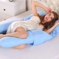 U Shape Maternity Breastfeeding Pillow Body Supporting Pregnancy Pillow Pregnant Women Nursing Pillow Side Sleepers Cushion