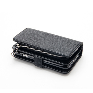 Image 5 - PU Leather for iphone 7 case hold Card Zipper Detachable Handbag Coin Wallet Case for iPhone 7 7Plus 8 6S Plus X XR 11 PRO Max