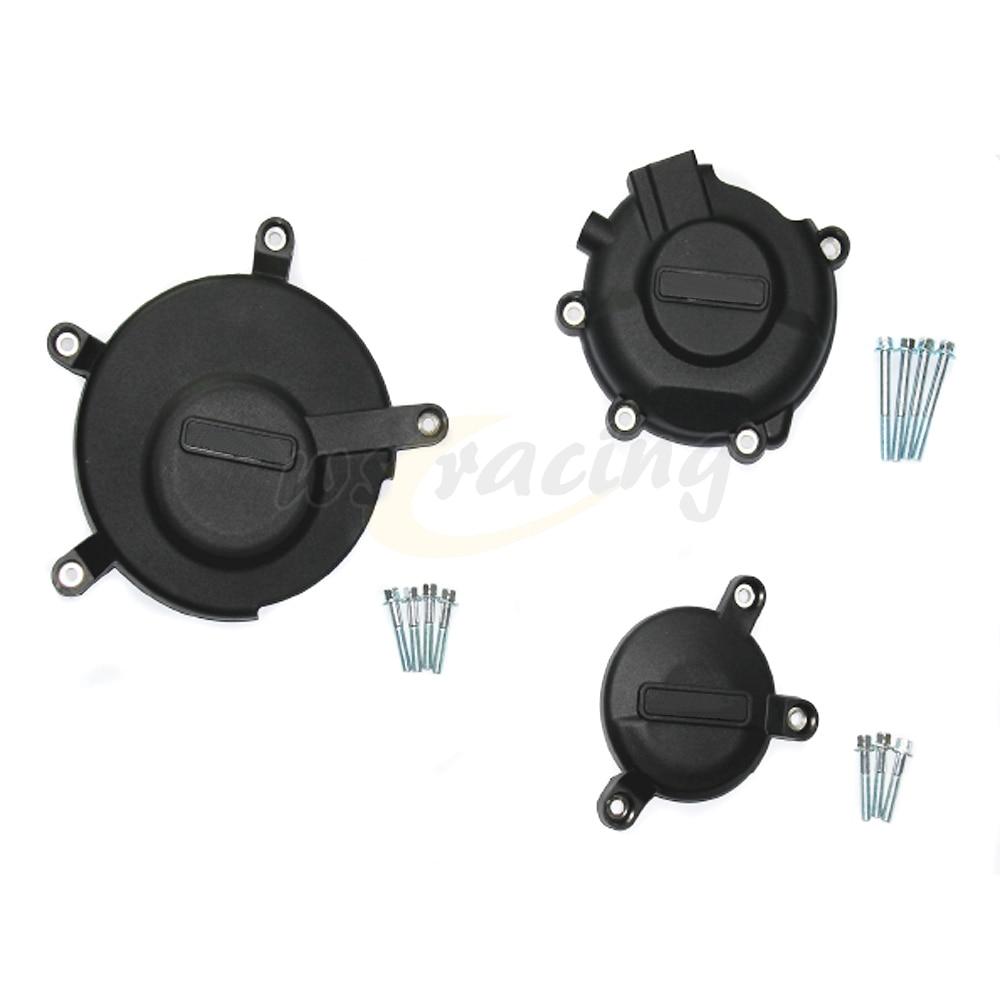 Motorcycle Black Engine Cover Protection Case Set Kit For SUZUKI GSXR600 GSXR750 2006-2015 06 07 08 09 10 11 12 13 14 15 motorcycle below down brake caliper pump for gsxr600 750 06 10 gsxr1300 08 12 bking 1300 08 12 gsr400 06 08 gsr600 2006 2010