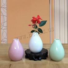 Jarrón Vintage florero de cerámica de decoración jarrones de estilo chino Vintage para decoración del hogar de la sala de estar adornos de regalo de escritorio