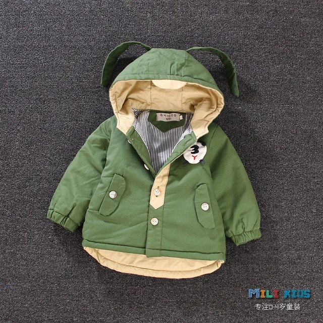 6ff52d67d Boy s coat paragraph dust coat grows autumn and winter clothing baby ...