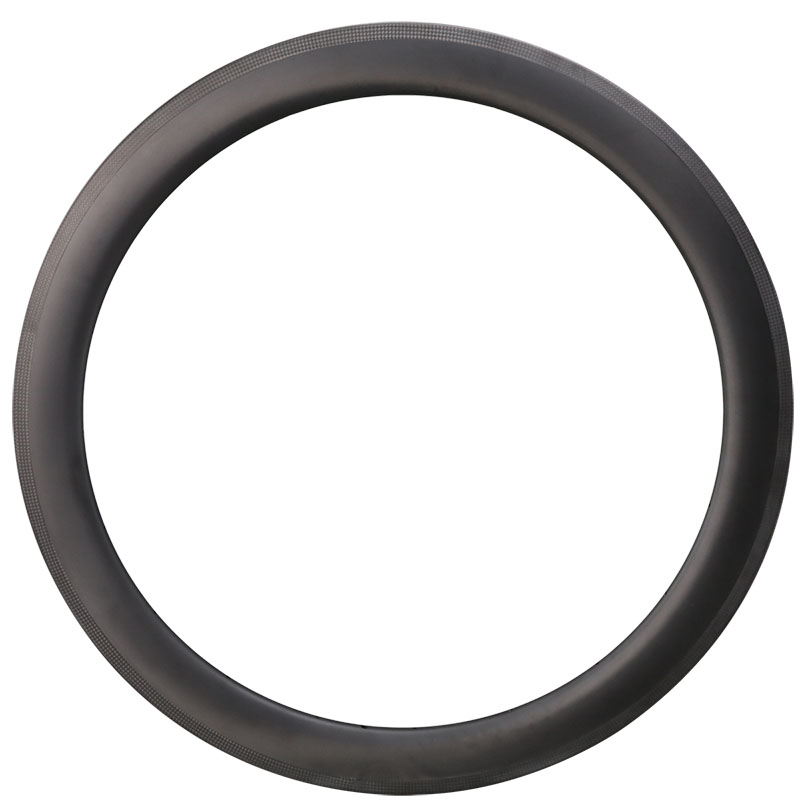ICAN 55C Carbon <font><b>Rim</b></font> 3K Weave Width 27mm For Road Bike 20/<font><b>24</b></font> Holes image