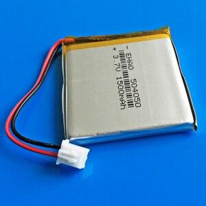 Image 2 - JST XHR 2.54mm 2pin 504050 3.7V 1500mAh נטענת סוללה lipo ליתיום פולימר עבור MP3 GPS DVD bluetooth מצלמה מקלדת MP4