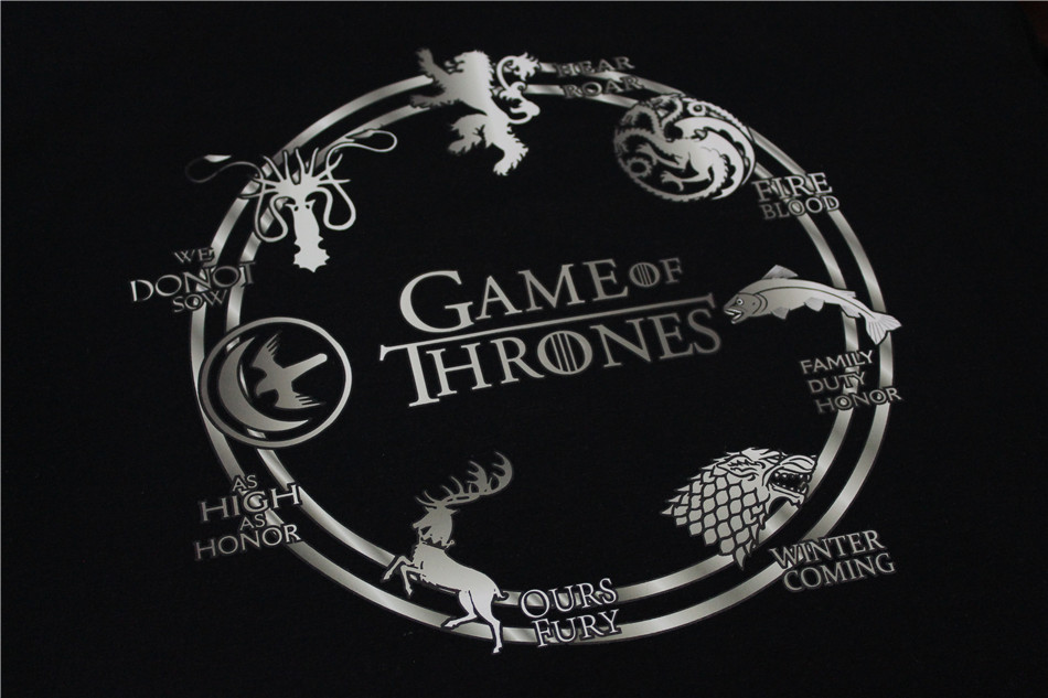 Cool Fashionable Game of Thrones Men T Shirts