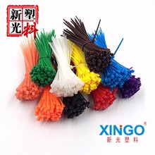 100pcs/bag 8 Color 2.5mmx100mm 2.5mm*100mm Self-Locking Nylon Wire Cable Zip Ties Cable Ties White Black Organiser Fasten Cable