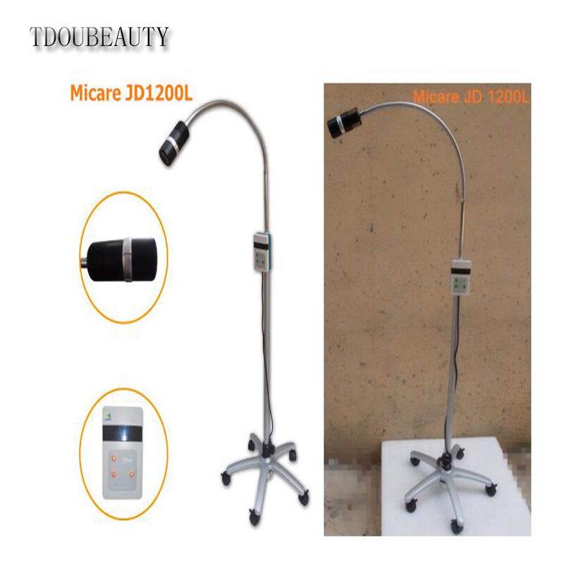 TDOUBEAUTY New JD1200L 12W Mobile Movable Obstetric LED Exam Lamp Halogen Light Free Shipping 4v210 08 4v210 4v220 valves air exhaust manifold 200m 10f pneumatic base 10 position solenoid valve plate