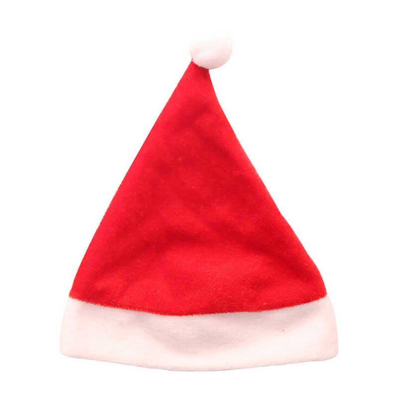 ערב חג המולד כובע Apple תיק מתנת כובע חג המולד קישוט לבית המפלגה טובות חדשה שנה חג המולד בית המפלגה שולחן Decors