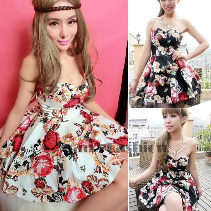 Cute cheap tube dresses